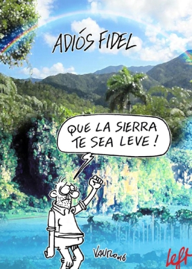 E' morto Fidel Castro - 04.11.2016 - Left