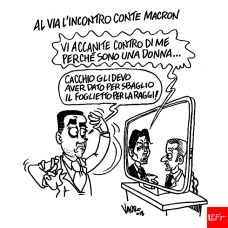 15/06/2018 Il Fatto Quotidiano - Conte incontra Macron a Parigi