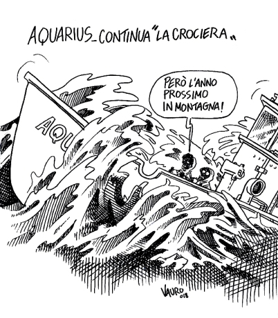 "16/06/2018 - Aquarius, continua ""la crociera"" - Il Fatto Quotidiano"