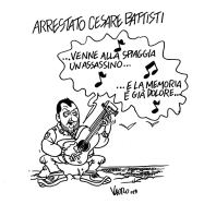 13/01/2019 Left - Arrestato Cesare Battisti