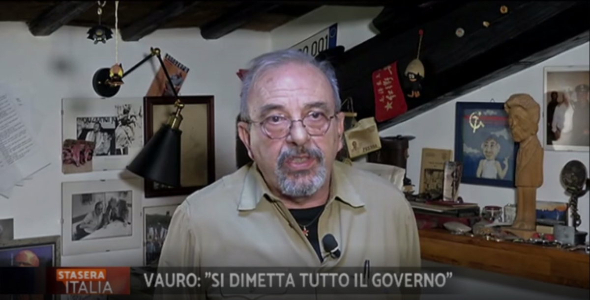 "Caso Siri, Vauro: ""Si dimetta tutto il governo"" - VIDEO"