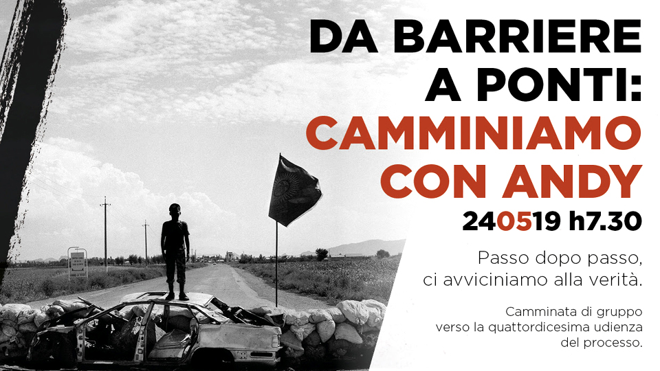 Da barriere a ponti: camminiamo con Andy