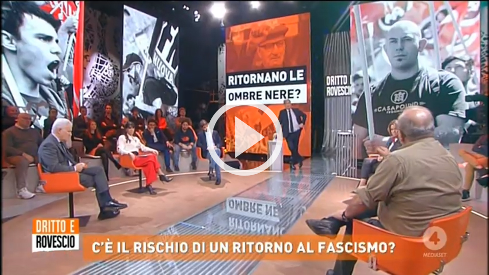 """Boom destra, rischio fascismo?"" L'intervento di Vauro — VIDEO"